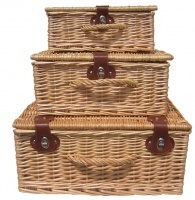 Natural Wicker Hampers