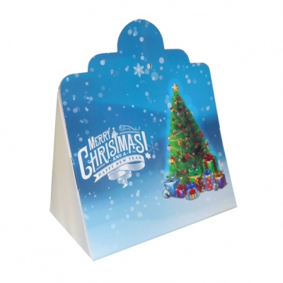 Triangle Gift Box (pk 10 Small) - CHRISTMAS TREE