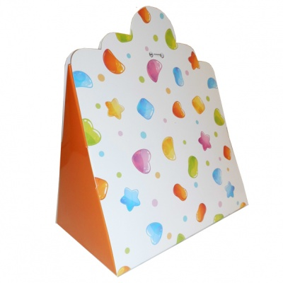 Triangle Gift Box (pk 10 Large) - CANDY