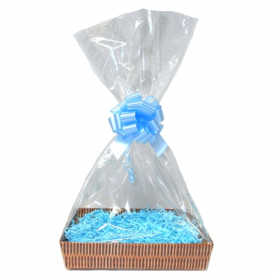 Gift Basket Accessory Kit - 31x21 - BLUE SIZE B  [Basket not included]