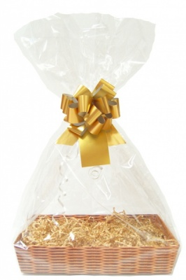 Gift Basket Accessory Kit - 21x16 - GOLD SIZE A