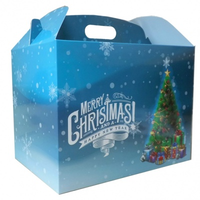 Gable Box - 24x18x16 (pk 10 Large) - CHRISTMAS TREE