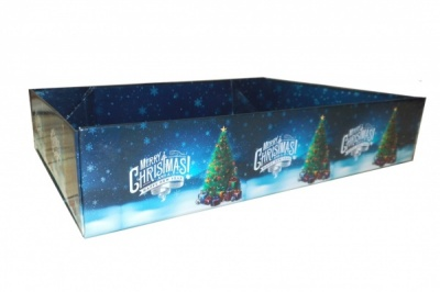 Easy Fold Gift Tray (30x20x6cm) - Medium CHRISTMAS TREE