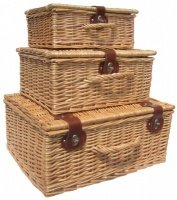 Premium NATURAL Hampers - SET OF 3
