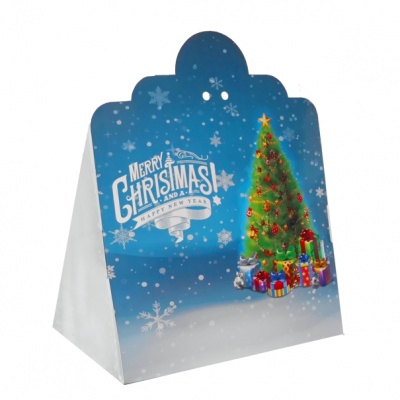 Triangle Gift Box (pk 10 Large) - CHRISTMAS TREE