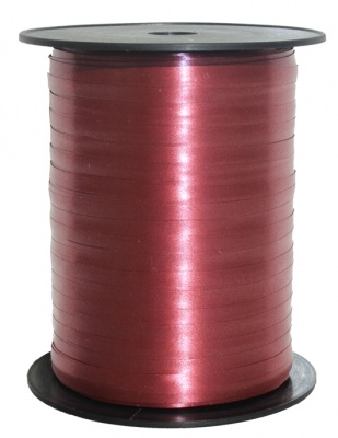 Curling Ribbon 5mm x 500m - BURGUNDY