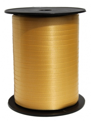 Curling Ribbon 5mm x 500m - GOLD