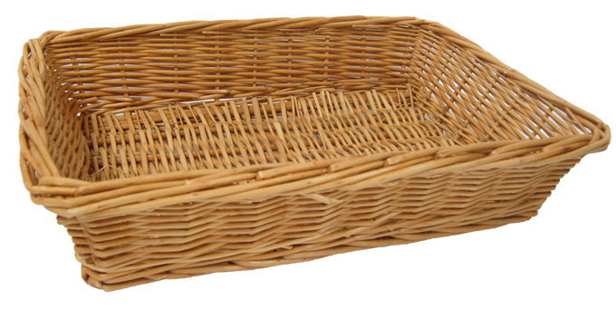 *NEW* Steamed Wicker Basket /Tray - 36x23x8cm