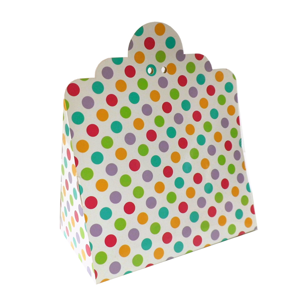 Triangle Gift Box (pk 10 Large) - SPOTS