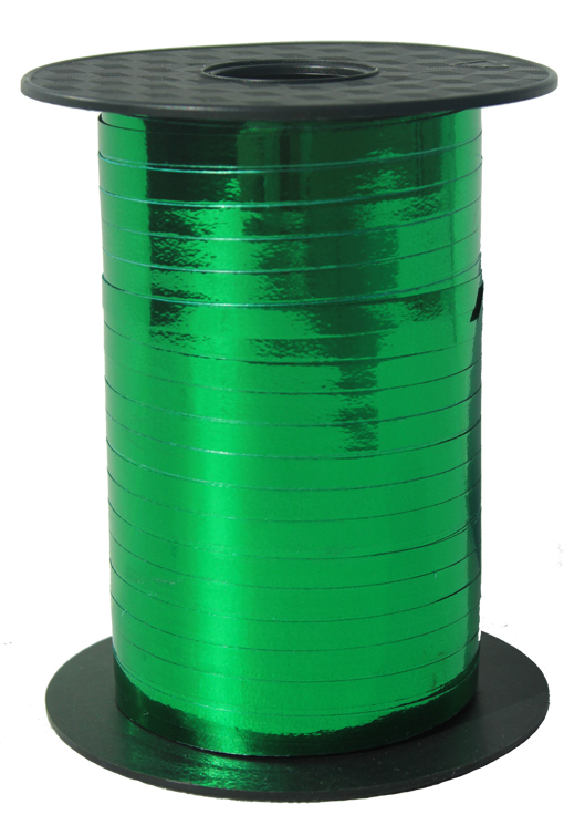Curling Ribbon 5mm x 250m - METALLIC GREEN