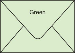 Envelopes for Gift Cards - PASTEL GREEN (pack of 100)