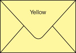 Envelopes for Gift Cards - PASTEL YELLOW (pack of 100)